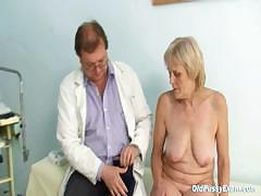 mature-old-brigita-getting-pussy-exam-from-experienced-gyno-doctor