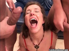 She loves hard and heavy banging