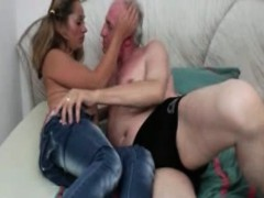 horny chick fucked hard by an old guy part6