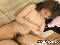 Kyoko Nakano - Old Japanese Pussy Licked And Penetrated
