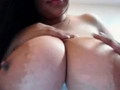 huge-busty-latina-blowjob-dildo