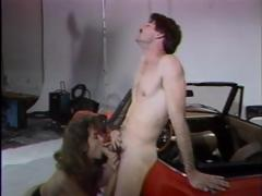 Vintage porn with Christy Canyon sucking and getting fucked