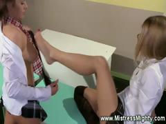 student-dominates-foot-fucks-teen