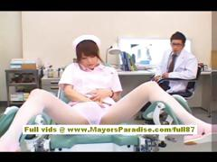 akiho-yoshizawa-sexy-asian-nurse-enjoys-teasing-the-doctor