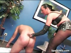 Busty Brunette Spanks Guys Big Ass Hard Part6