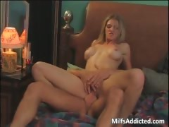 Admirable mom with big tits screams part6
