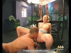 Sexy blonde whore gets her pussy licked part2