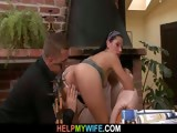 Hot wife rides stranger's big meat