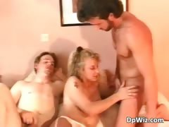 Attractive Blonde Whore Blows Hard Cock Part2