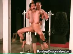 Busty Brunette Babe Is Sex Slave Part4