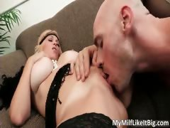 Hot Nasty Big Boobed Blonde Milf Slut Part6
