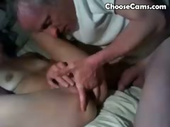 Grandpa Giving Grandma Oral