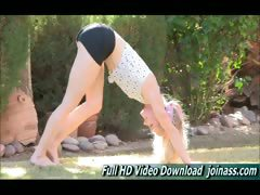Bella Nude Yoga Instruction Video