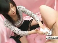 subtitled-cfnm-japanese-college-student-bathes-penis